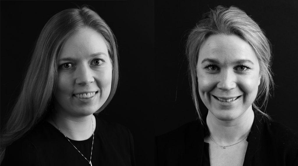 Anna Forsberg och Rebecca Uhrfeldt, Dmatch