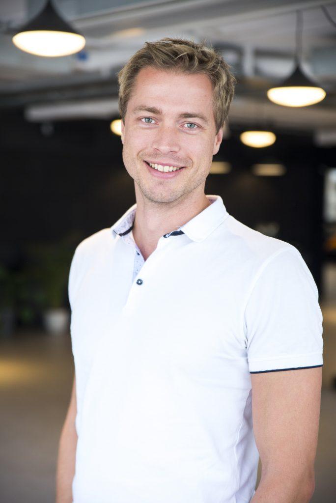 Jacob Rudbäck, CEO och grundare av Yepstr